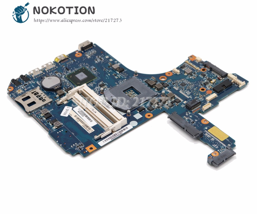 NOKOTION For Toshiba Satellite S55T S55-A S50-A Laptop Motherboard H000057570 VGF MB MAIN BOARD HM77 UMA DDR3 h000053270 vgsg for toshiba satellite s50 s50 a s55 s55 a l50 l50 a laptop motherboard