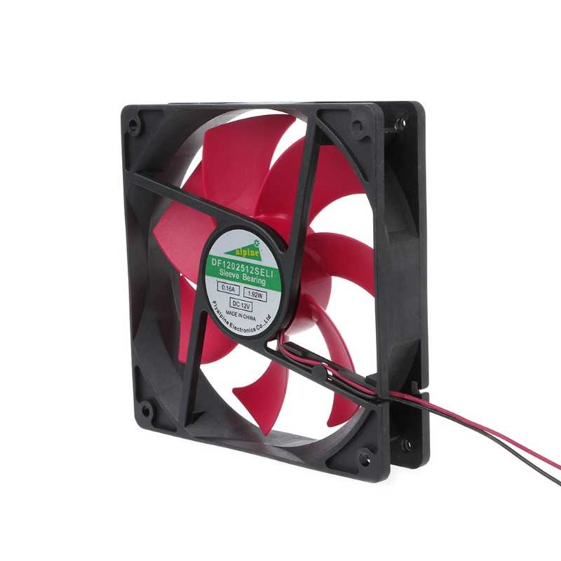 مروحة للكمبيوتر 120 مللي متر DC12V 0.2A 2.5 2pin الخادم العاكس القضية المحورية برودة الصناعية مروحة