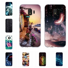 For Samsung Galaxy J2 Core Case TPU J260M J260Y J260G Cover Sky Patterned Bumper
