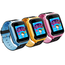 Vwar Q528 Y21 Touch Screen Kids GPS Watch with Camera Lighting smart watch phone Location SOS