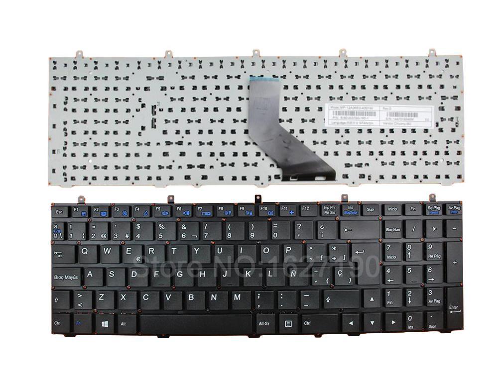 New for Clevo W370ET W350ET W350 W370 W655 W670 W670SR Backlight US keyboard