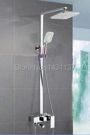 rain shower head water pressure. Special 8  NEW Chrome Brass Water Pressure Boosting Bathroom Rain Shower Mixer Tub Faucet