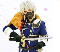 Free Shipping Newest Touken Ranbu Online Nakigitsune Yellow Or White Cosplay Prop Fox
