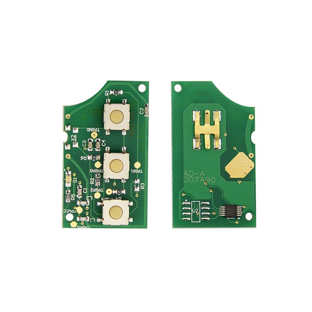 Image 5 - OkeyTech 433 МГц 3 кнопки дистанционного ключа автомобиля для AUDI 4D0837231A 4D0837231K 4D0837231N флип Фолд ID48 чип для A3 A4 A6 A8 старые модели-in Ключ авто from Автомобили и мотоциклы on AliExpress - 11.11_Double 11_Singles' Day