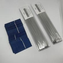 ALLMEJORES 20Pcs Solar Cells 52mmx26mm 0.23W 0.5V for DIY Solar panel Charger give enough Tab wire Bus bar wire