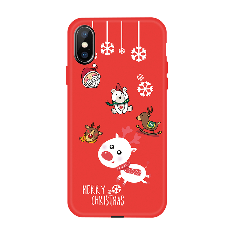 huge selection of 1763c ab16a Gertong Luxury Christmas Case For Iphone XS MAX XR Cute Cartoon Girly Phone  Cases For Iphone X 8 7 6 6S Plus Soft TPU Cover Gift