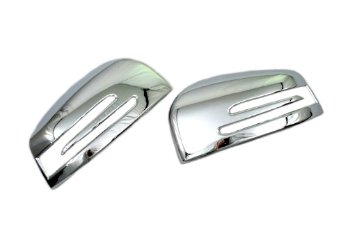 Car chromium styling chrome side mirror cover for mercedes for Mercedes benz side mirror price