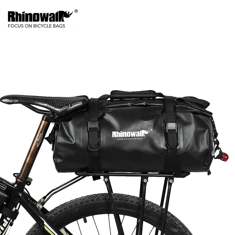 RHINOWALK 2018 Bicycle Panniers Rear Rack Bag Cycling Travel Luggage Case On Bike MTB Mountain Bike Packing Goods Accessories rhinowalk 25l bicycle backpack ultralight waterproof mtb mountain bike cycling backpack rucksack bike travel luggage packing bag