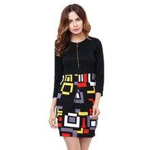 Платье на молнии с узорами, в горошек, с принтом, кружевное, качественное, винтажное, весенне-летнее, женское, Vestido De Renda, женская одежда, повседневные платья-карандаш