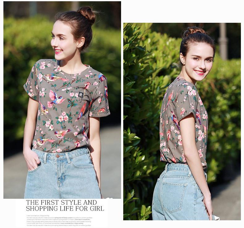 HTB1P6qOKXXXXXbWaXXXq6xXFXXX4 - New Arrival Summer T-Shirt Fashion Printed Top Tees For Women