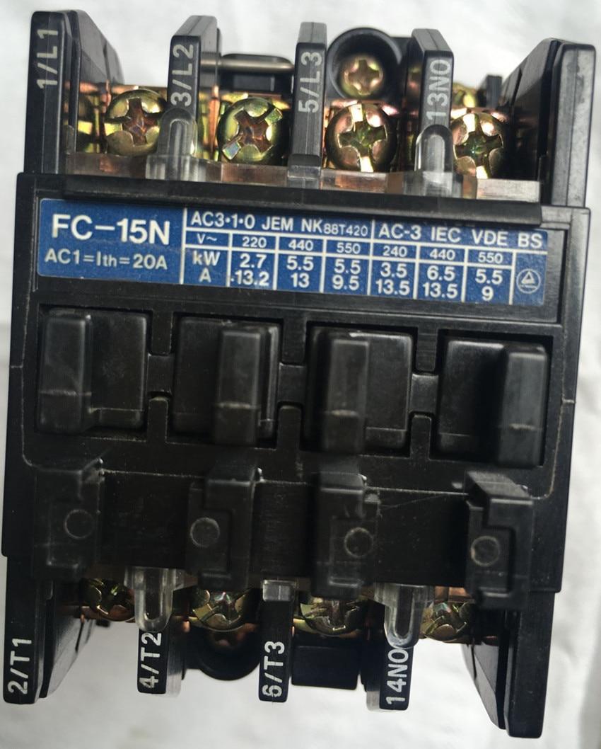 цена на FC-15N AC220V new and original contactor