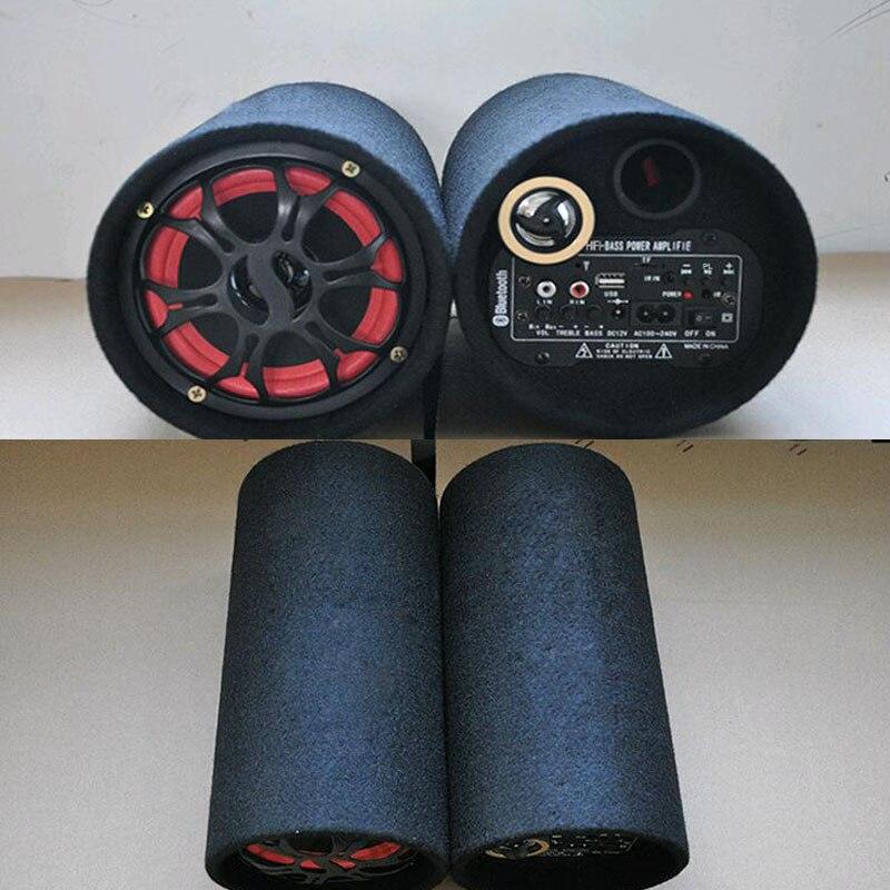 Car Active bluetooth subwoofer bass hifi loud speakers