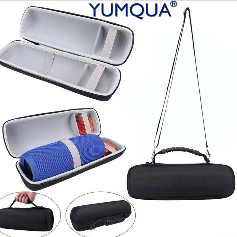 YUMQUA Pouch Bag for JBL Charge 3 Travel Protective Cover Case For JBL Charge3 Bluetooth Speaker