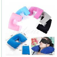 ISKYBOB Inflatable Travel Pillow Air Cushion Neck Rest U-Shaped Compact Plane Flight Travel Accessories Bag Parts & Accessories