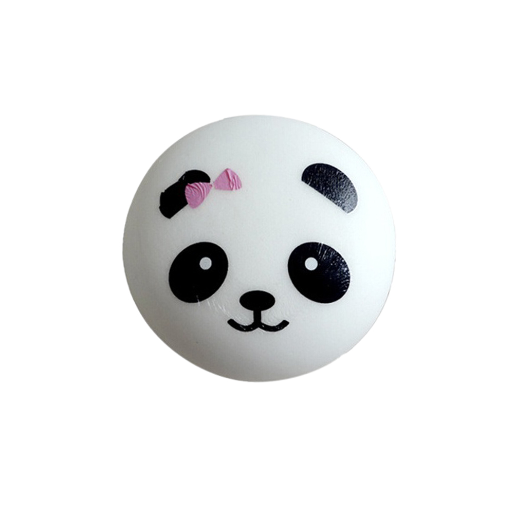 Mobile Phone Accessories Cellphones & Telecommunications Fun Kid Toy Xmas Cartoon Cake Bun Jumbo 10cm Cute Emoji Colorful Face Panda Squishy Bread Slow Rising Excellent Quality