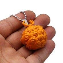 Devil Fruit Cursed Metal Bead Chain Necklace