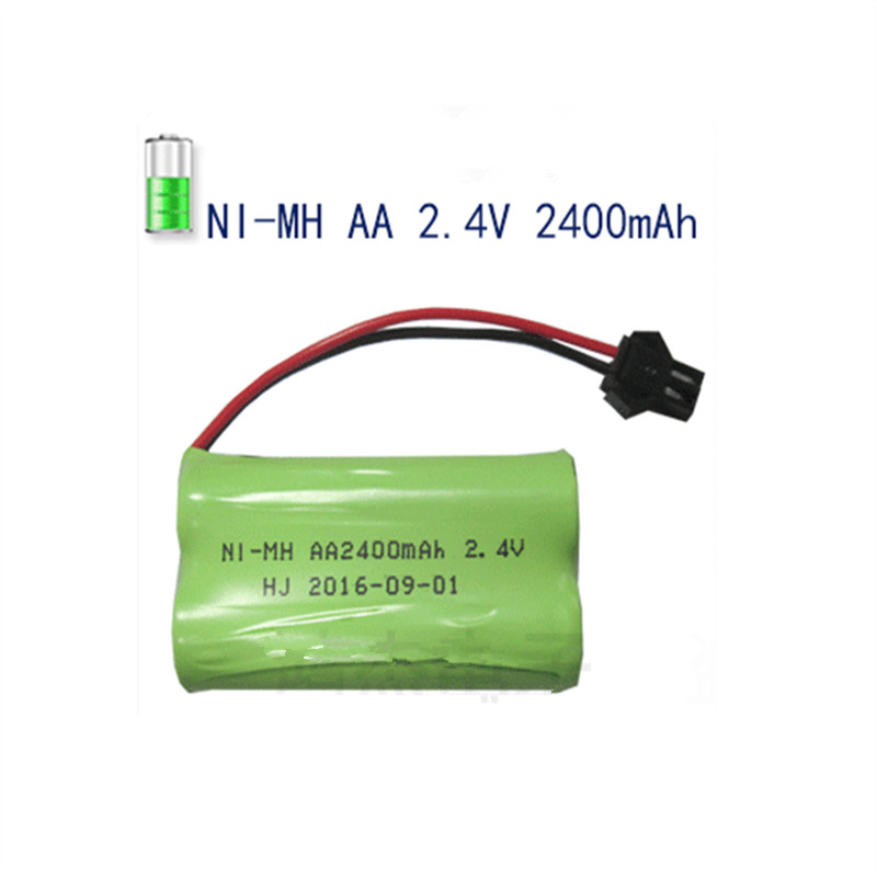 1pcs Baterie Pack Aa Ni Mh 2 4v 2400mah Aa Rechargeable
