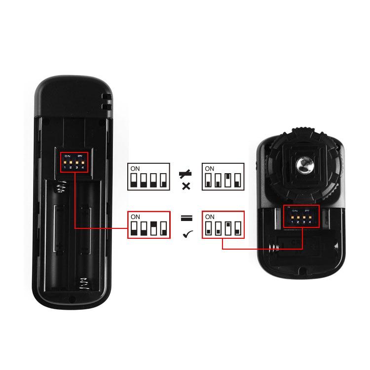Pulsuz YouPro YP-860 / E3, bir uzaqlıq, DSLR üçün simsiz uzaqdan - Kamera və foto - Fotoqrafiya 4