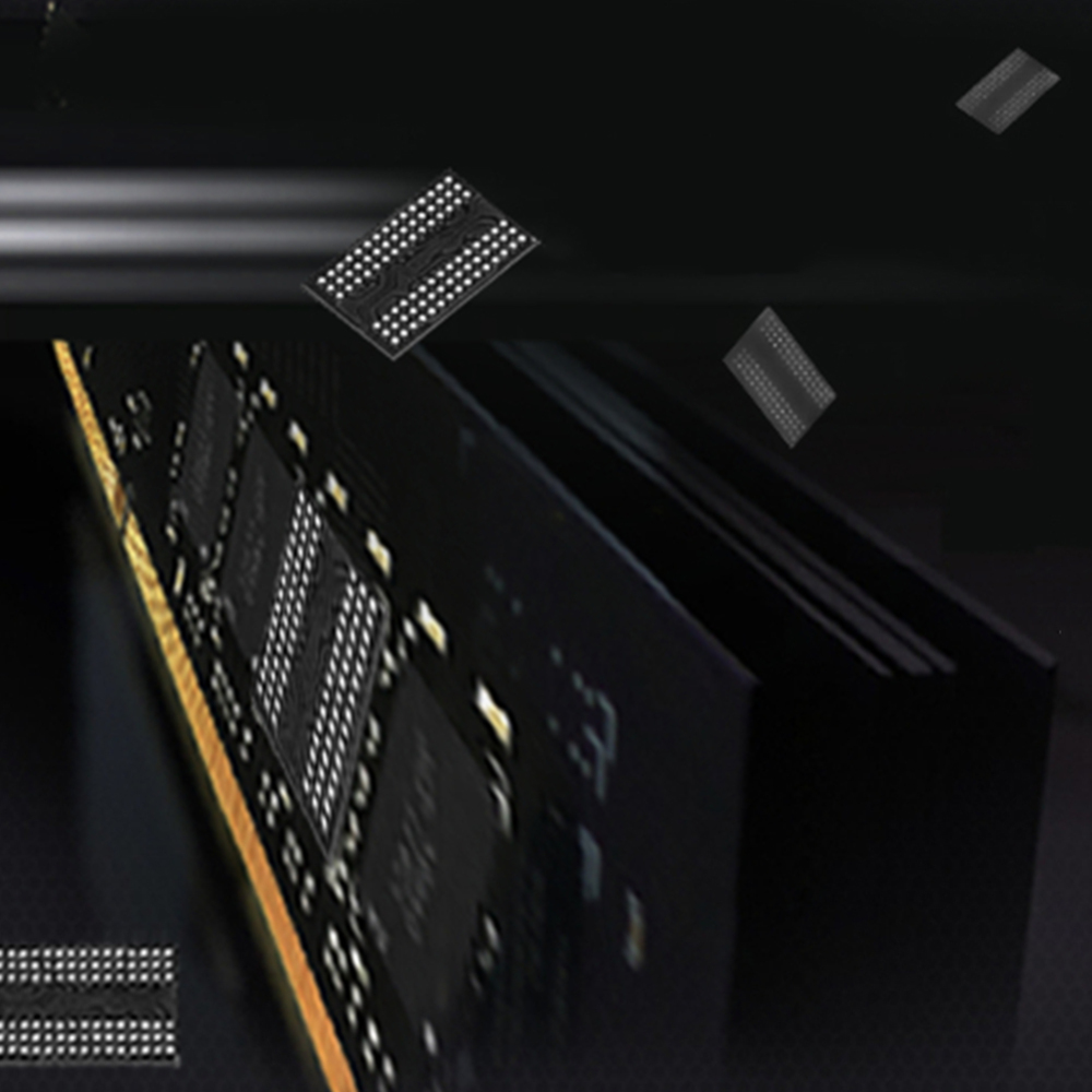 1pcs RGB Memory Glowing Heatsink DDR4 8G 3000MHZ PC4 24000 288 Pin Memory RAM in RAMs from Computer Office