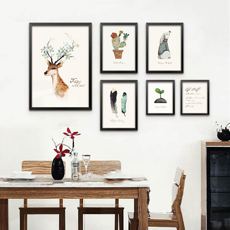Online Get Cheap Animal Posters And Prints Aliexpress
