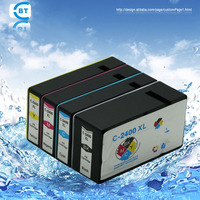 4 Color 1set Pgi2400 Ink Cartridge For Canon MAXIFY IB4040 MB5040 MB5340 Printer