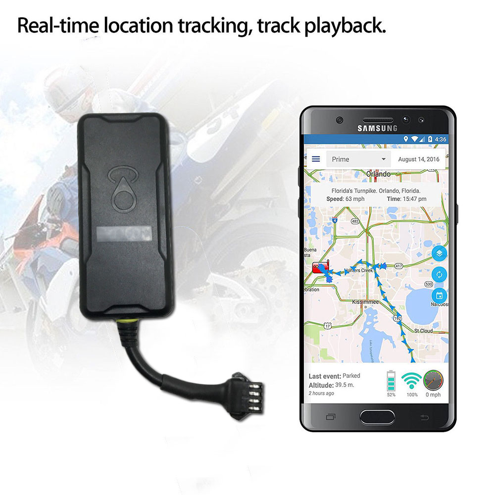 Liberal Mini Gps Gprs Tracker St-901m Vehicle Tracking Device Car Motor Gsm Locator Remote Control With Real Time Anti-theft System App A/c & Heater Controls