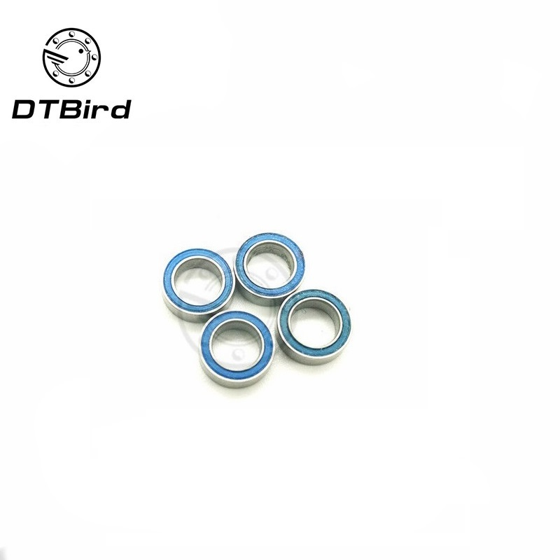 Free Shipping High quality 10PCS MR105-2RS ABEC-5 <font><b>5*10*4</b></font> mm Miniature Ball Bearings MR105RS L1050 image
