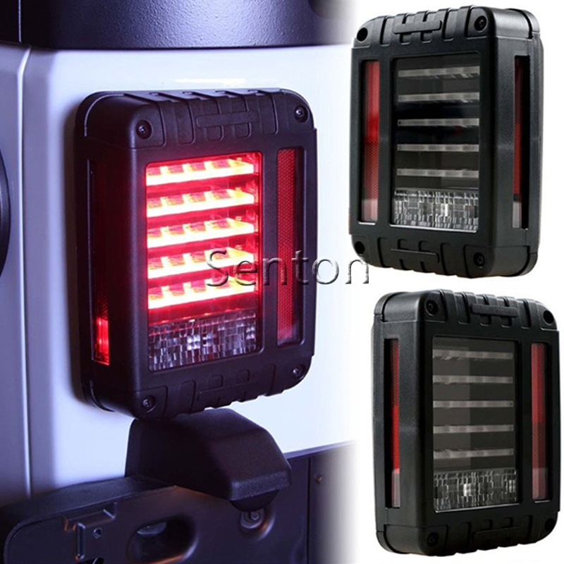 Led Taillight Brake Light Reverse Light Signal Light Car Auto Tali Light For Jeep Wrangler With European Standard Plugs