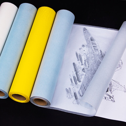 A4 Paper 12inch*50y Transfer Paper Transparent Sulfuric Acid Papel Tracing Architectural Design Art Drawing Paper Papel Transfer