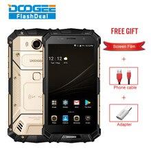 """Doogee S60 IP68 Водонепроницаемый смартфон 6 ГБ + 64 ГБ 5.2 """"helio P25 Octa core 4 г android7.0 5580 мАч 21.0mp Глобальный Версия прочный телефон"""