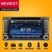 2 DIN dvd-радио GPS HD для Toyota Hilux Vios старый Camry Corolla Прадо RAV4 Prado 2003 2004 2005 2006 2007 2008 + камера заднего вида