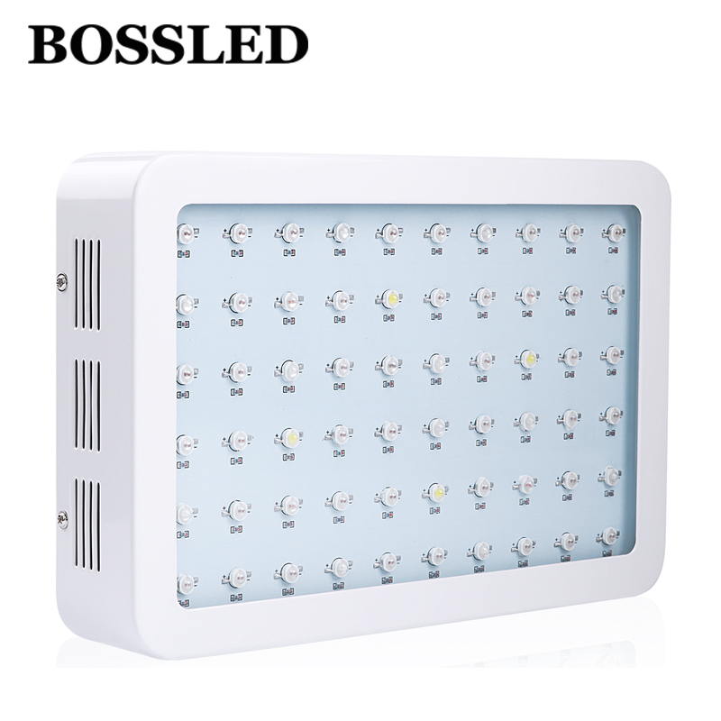 BOSSLED 600W Double Chips LED Grow Light Full Spectrum For Indoor Plants Flower grow tent greenhouse hydroponic led grow light