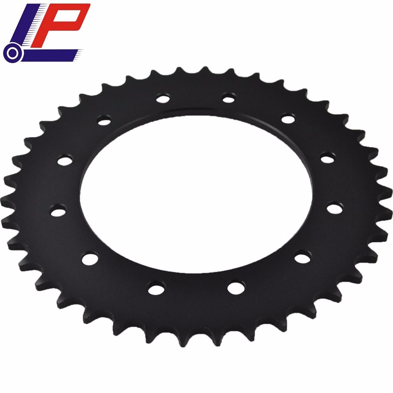 LOPOR Rear Sprocket For KTM 300/250 EXC Enduro/Six Days,360 EGS,520 Racing,620 LC4 RXE/LSE/SC Supermoto,625 SMC/SXC,660 SMC motorcycle front and rear brake pads for ktm egs lse exc 400 all models 1998 2006 black brake disc pad