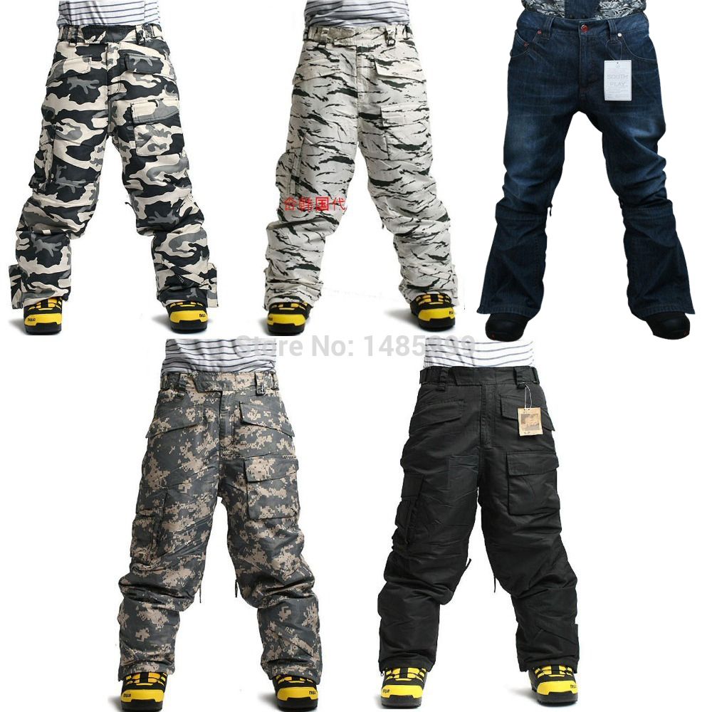 New Edition Southplay Winter Waterproof 10,000mm Warming Military Pants