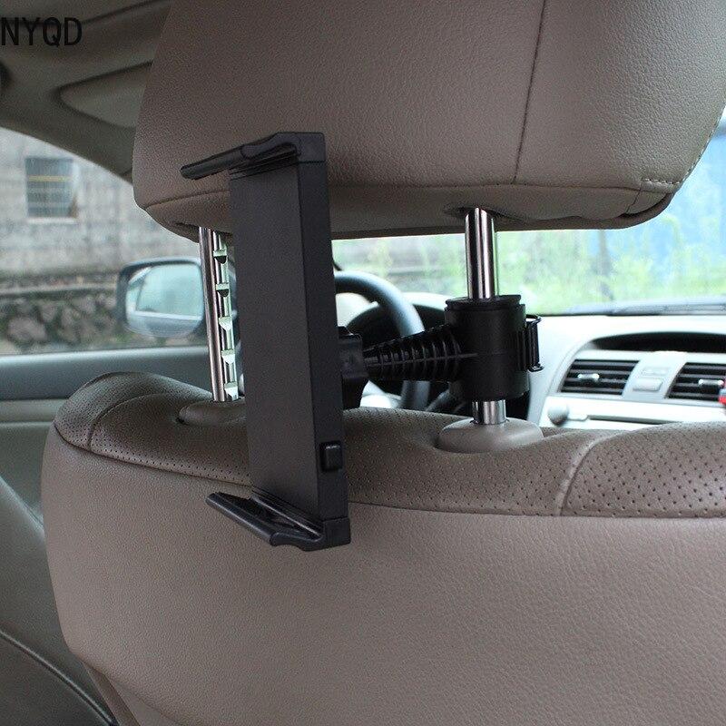 Handy Tablet PC Auto Inhaber Stehen Zurück Auto Sitz Soporte Kopfstütze Halterung Unterstützung Zubehör für GPS DVD iPad Mini pro