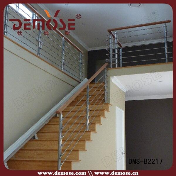Cable barandillas para escaleras de interior precio de madera de
