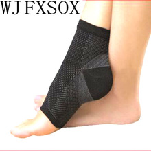 WJFXSOX Cycle Foot Men Women Anti Fatigue Angel Circulation Ankle Swelling Relief Compression Foot Sleeve Socks As Seen On TV