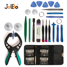 Jelbo 48 in 1 LCD Screen Opening Pliers Screwdrivers Tool Set Mobile Phone Repair Tool Combination  Pry Disassembly Set цены