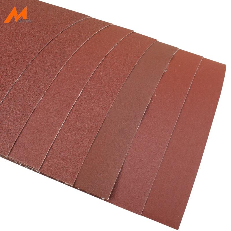 5pcs Abrasive Cloth Sheet 60 To 240 Grit 9