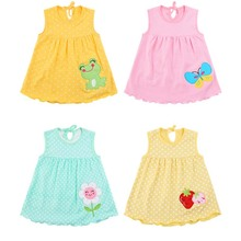 Summer One Year Baby Girl Cotton Dress Infant Kids Princess Dresses 0-24 Months Newborn Clothes Clothing Christmas Gift