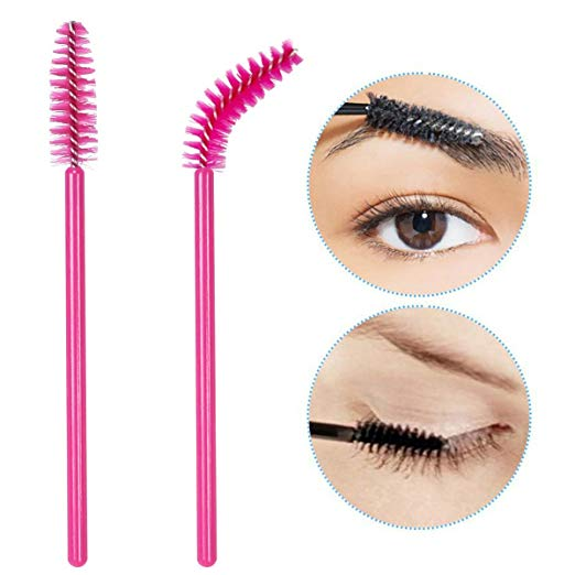 Image 3 - 1000PCS Eye lashes Extension Makeup brushes Disposable Mascara Wands Applicator Spoolers Eyebrow Cosmetic Brush Makeup Tools-in Eye Shadow Applicator from Beauty & Health