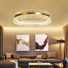 BOKT Crystal Modern LED Ceiling Lights Fixtures Home Lighting led lamp Living room Bedroom Round chandelier