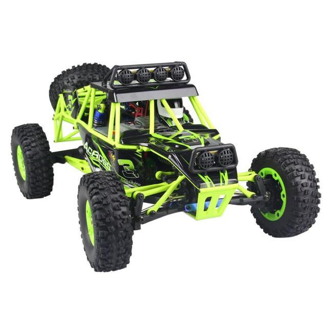 Wl r/c rock crawler escala 1:12 rádio controle do caminhão off road escalada elétrica-drive cars rc toys para as crianças