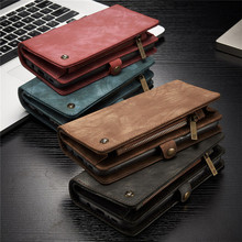 Genuine Leather Flip Cover For Samsung Galaxy S8 S9 Plus S7 Edge
