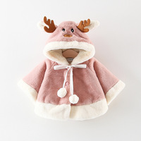 Hot Style Cotton Terry Children's Clothing Wholesale In The Fall And Winter Of 2018 New Girls Warm Clothes Maomao Christmas