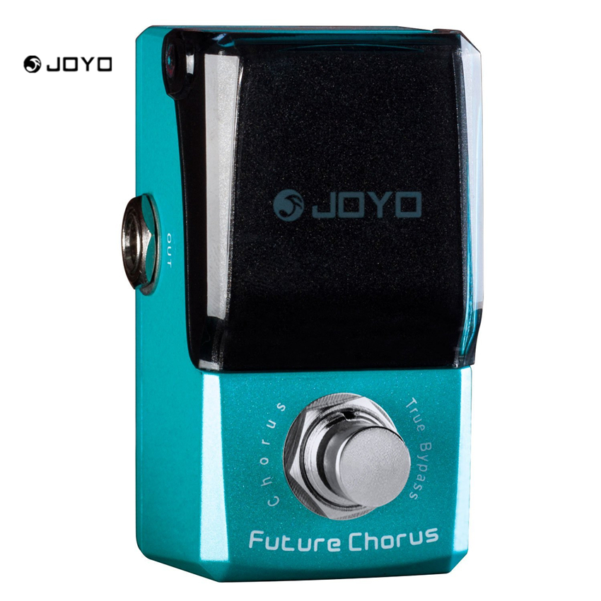 JOYO JF-316 Future Chorus Pedal Ironman Mini Series Effect Pedal True Bypass mooer ensemble queen bass chorus effect pedal mini guitar effects true bypass with free connector and footswitch topper