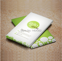 High Grade 200pcs Lot Paper Business Card 300gsm Paper Cards With Custom Logo Printing Free Shipping