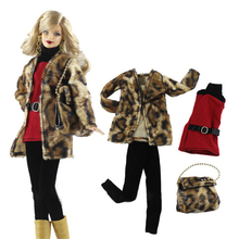 15 Styles Doll Party Clothes Elegant Blouse Casual Wear Girls Suit Trousers Accessories GirlsGift