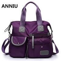 New Arrival Women Handbag Large Capacity Casual Messenger Bags Women Nylon Waterproof Vintage Crossbody Shoulder Bag
