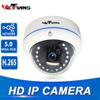 Network IP Camera Onvif 10m Night Vision 4MP Vandalproof Dome Full HD 2 8 12mm Lens